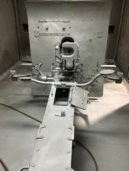 Blasted Krupp Gun