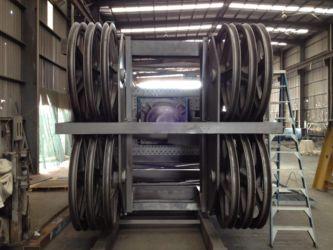 Hammerhead crane pulley system - Blasted